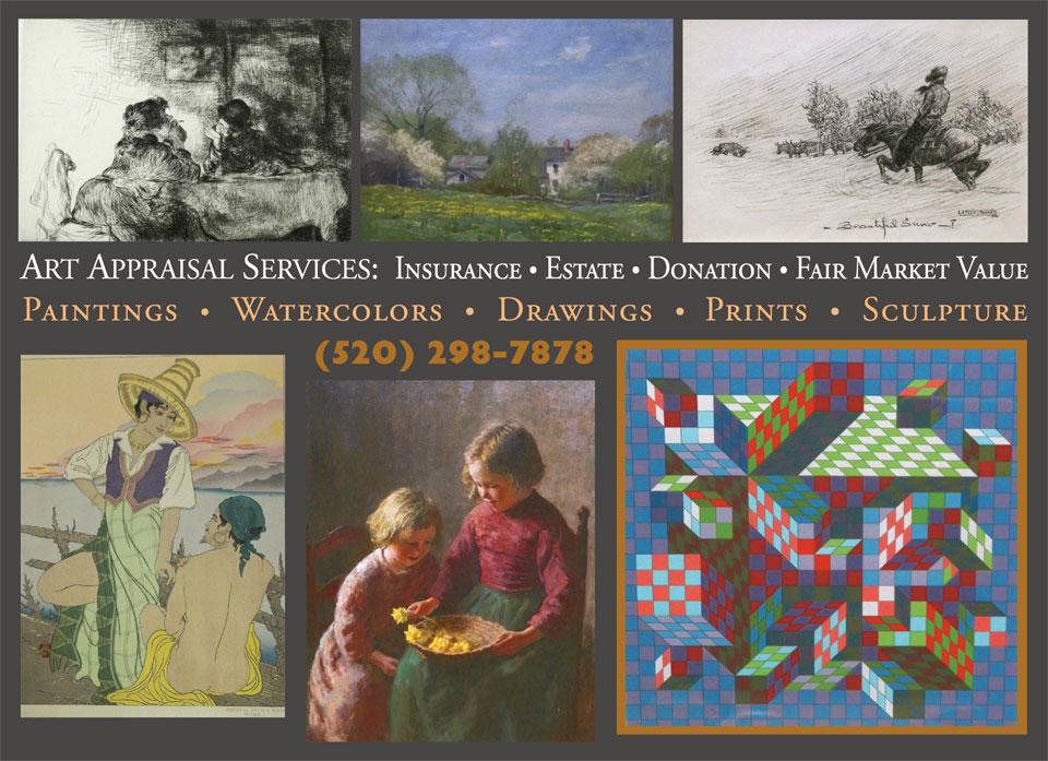 Tucson fine art appraiser - 25 Years Experience